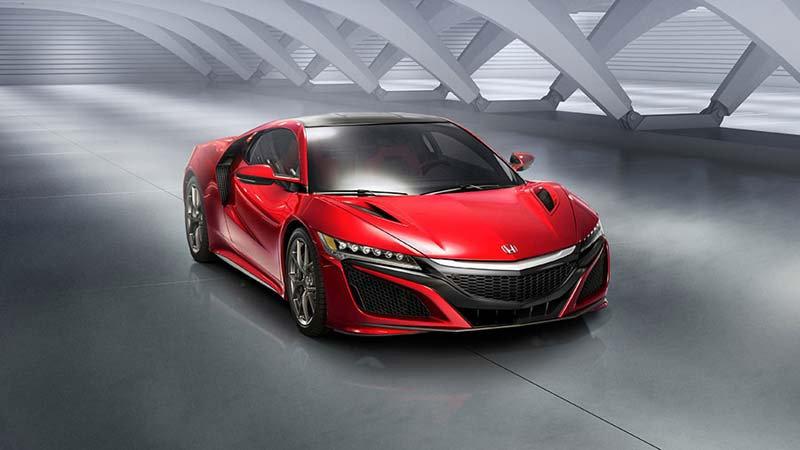 Kırmızı Honda NSX Duvar Kağıtları Modelleri | 3D Otomobil Duvar Kağıdı