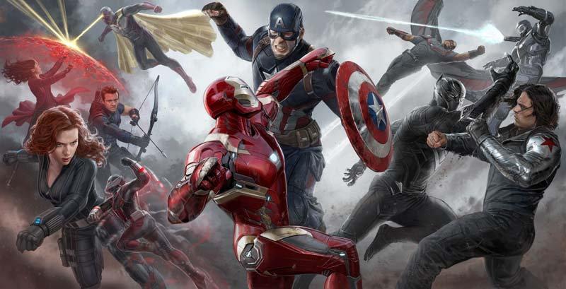 Kaptan Amerika Duvar Kağıdı | 3 Boyutlu Iron Man Duvar Kağıdı