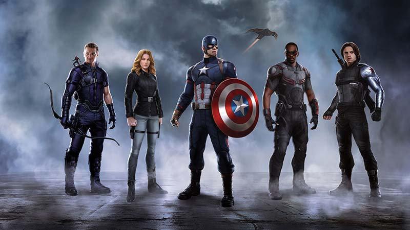 Genç Odası Duvar Kağıdı Modelleri 3d | Captain Amerika Duvar Kağıtları