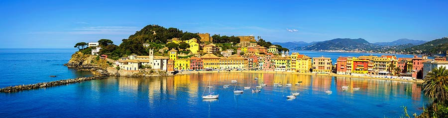 3 Boyutlu Sahil Kenti Duvar Kağıtları | Full HD İtalya Duvar Kağıtları