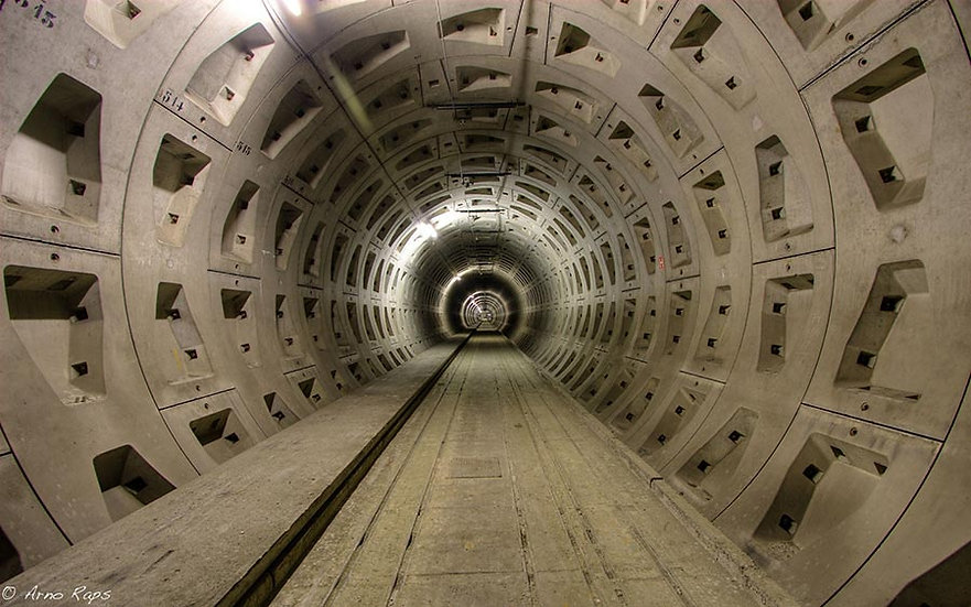 3 Boyutlu Tünel Duvar Kağıdı Örnekleri | Tünel Duvar Kağıdı Fiyatları