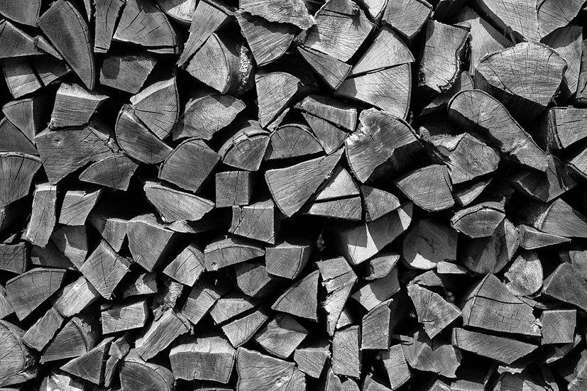 Kırık Odun Duvar Kağıdı | 3D Kırık Odun Desenli Duvar Posteri | İstanbul