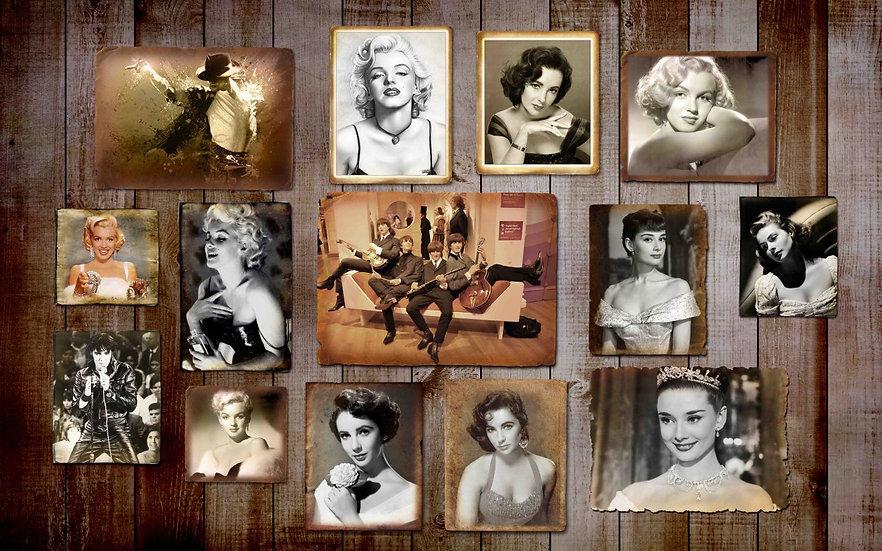 4K Marilyn Monroe Duvar Posterleri | Marilyn Monroe 3 Boyutlu Duvar Kağıdı