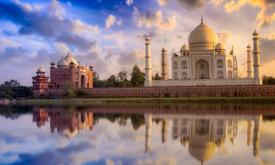 Taç Mahal Hindistan Duvar Kağıdı | Taç Mahal Manzaralı Duvar Kağıdı