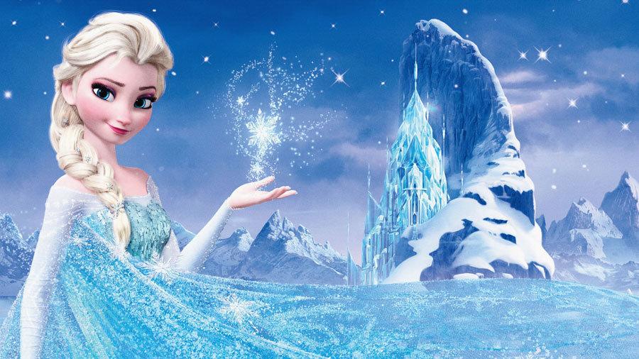 Karlar Kraliçesi Elsa Duvar Kağıdı 3D | Elsa 3D Duvar Kağıdı | İstanbul