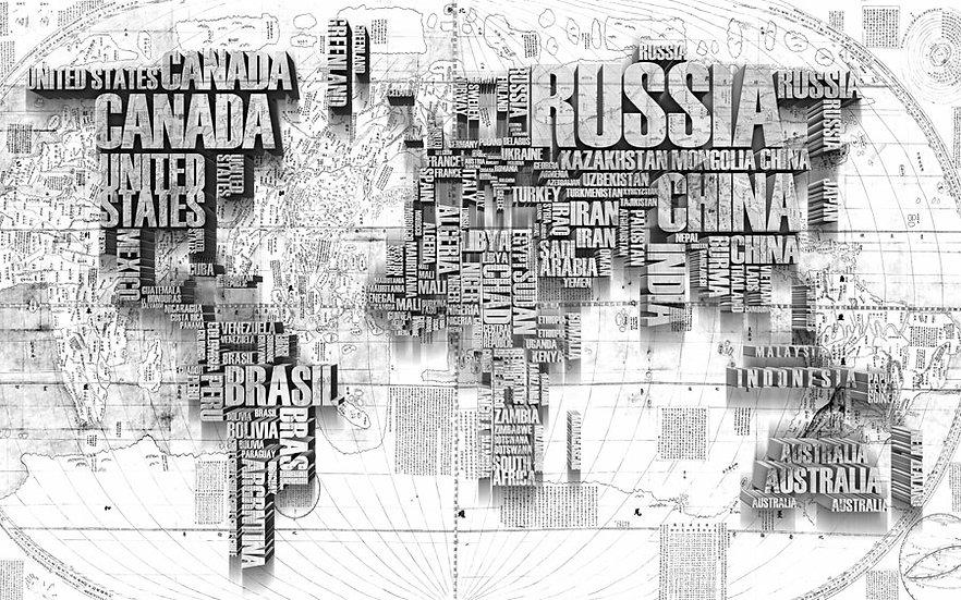 Ülke Haritası   3D Ülke Haritası Duvar Posteri   Osmaniye