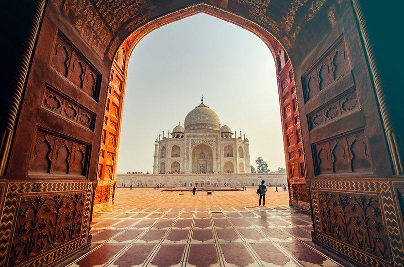 Taç Mahal Hindistan Duvar Kağıdı   Taç Mahal Manzaralı Duvar Kağıtları Kopyası
