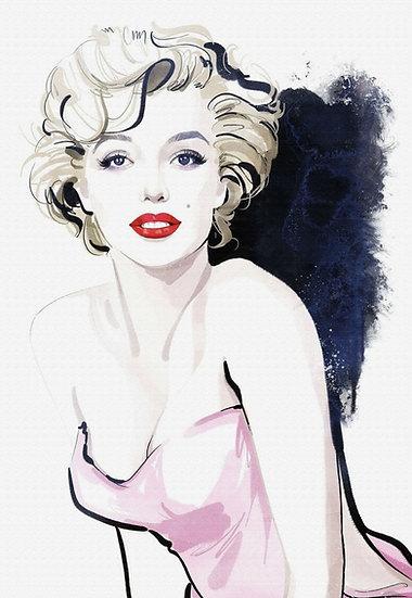 Marilyn Monroe Duvar Posteri   Marilyn Monroe Gravity Duvar Kağıdı