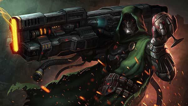 3D Animasyon Duvar Kağıdı | HD Doctor Doom Duvar Posteri