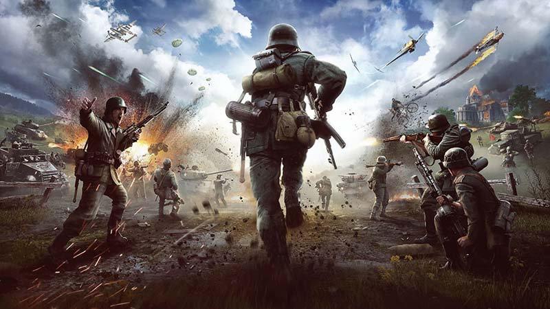 Efsane Oyun Odası Duvar Kağıdı | Savaş Oyunu 3 Boyutlu Duvar Kağıtları