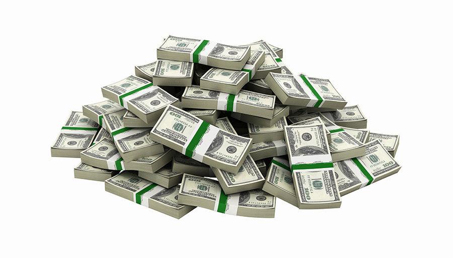 3 Boyutlu Para Duvar Kağıtları | Dokulu 3D Dolar Duvar Kağıtları