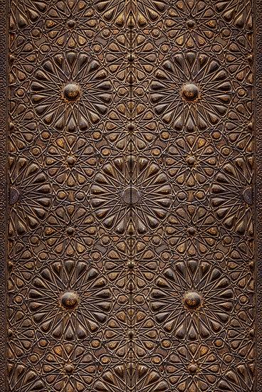 Kapı İçin Özel Dekor Duvar Kağıtları | 3D İstanbul Duvar Kağıdı