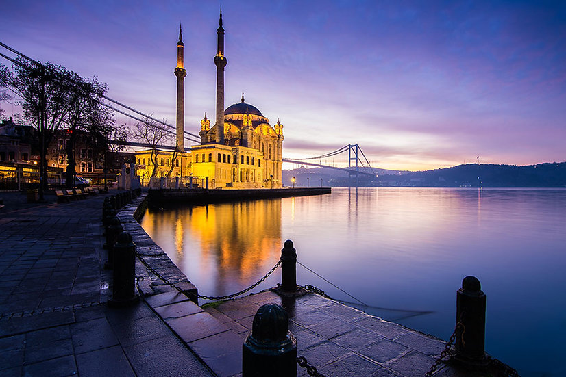 Ortaköy Camii Manzara Duvar Kağıtları
