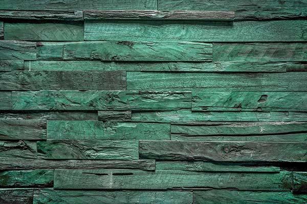 3D Yeşil Kütük Duvar Kağıdı | Full HD Ağaç Parçaları Duvar Kağıtları
