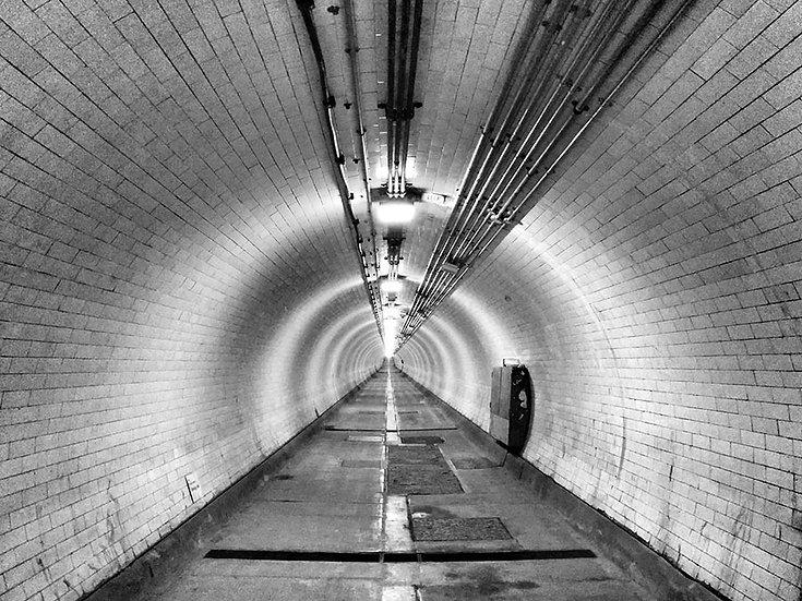 Tünel 3 Boyutlu Duvar Kağıdı Örnekleri