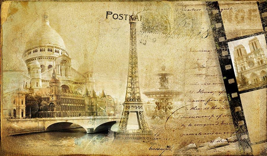 3 Boyutlu Paris Duvar Kağıtları | Muhteşem Paris Anıları Duvar Kağıtları