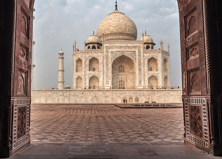 Taç Mahal Hindistan Duvar Kağıdı | Taç Mahal Manzaralı Duvar Kağıtları