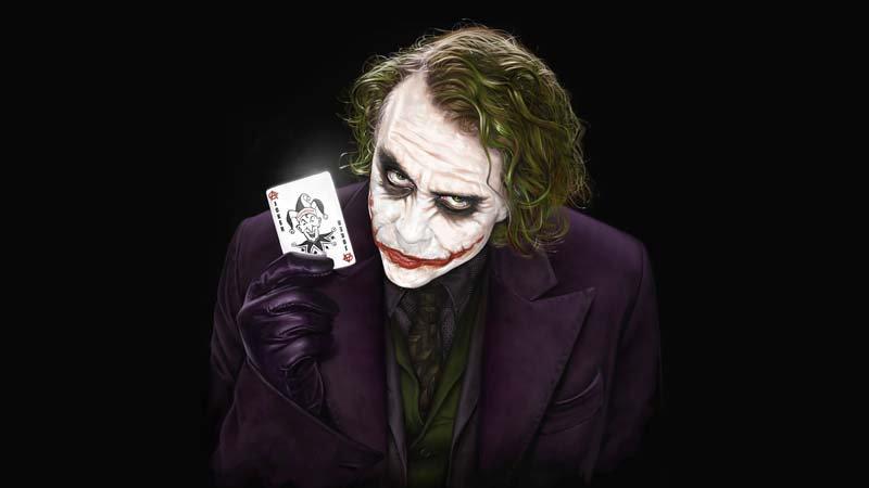 Joker Duvar Kağıtları | Joker 3 Boyutlu Duvar Kağıdı