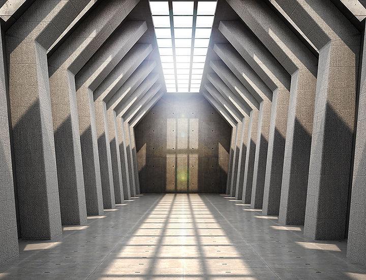 3D Tünel Duvar Kağıdı   3D Duvar Kağıdı Örnekleri