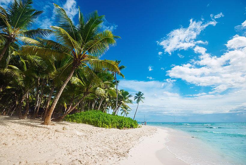 Deniz Manzara Duvar Kağıdı | 3 Boyutlu Deniz Sahil Manzaralı Duvar