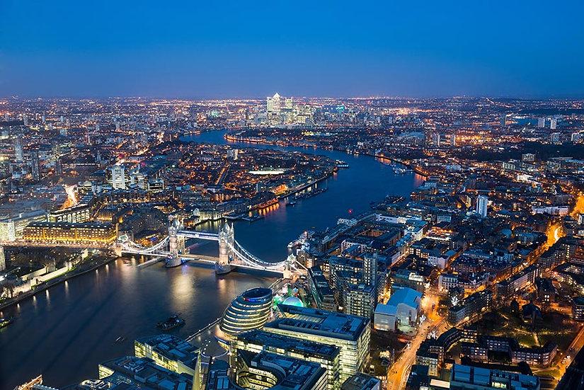 3 Boyutlu Londra Duvar Kağıtları | İngiltere Londra Gece Görseli Duvar Kağıtları