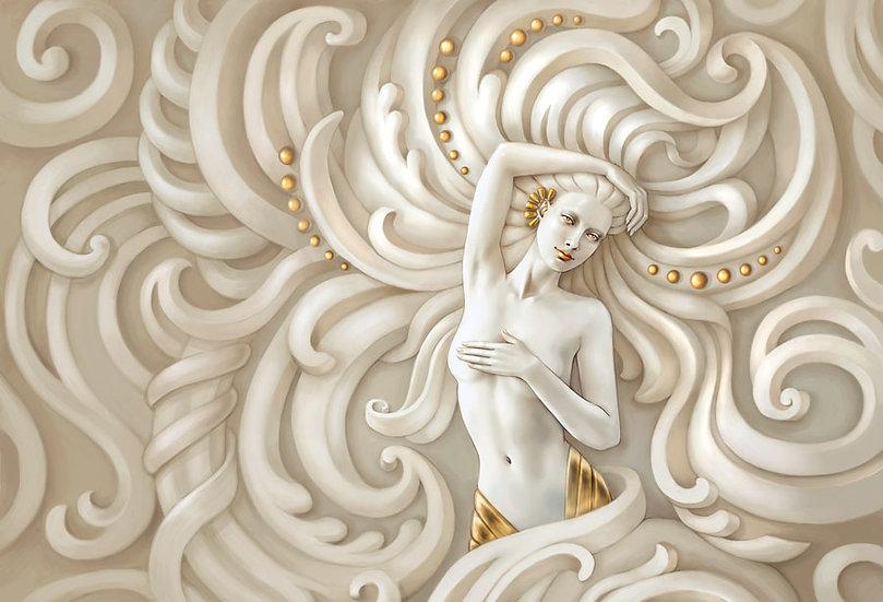 3D Medusa Kadını Duvar Kağıdı | Medusa Duvar Kağıtları