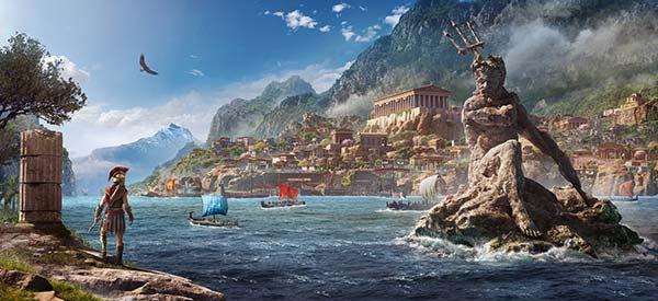 3D 300 Spartalı Duvar Kağıdı   HD Assassin's Creed Odyssey Duvar Posteri