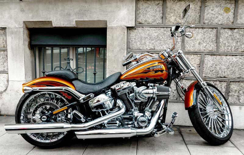 Harley Davidson Motor Duvar Kağıdı   3 Boyutlu Motor Duvar Kağıtlar