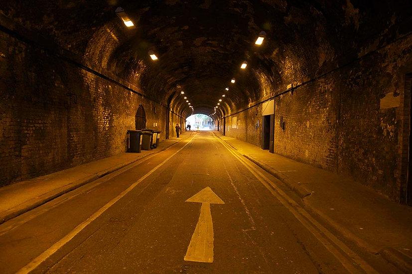 Tünel Duvar Kağıdı Modelleri | Otoyol Tünel Manzara Duvar Kağıdı 3D
