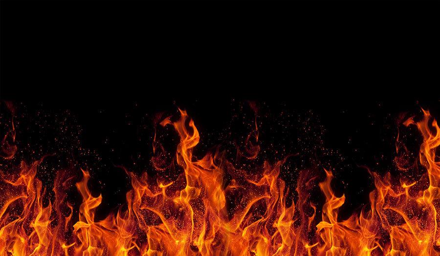 Full HD Görselli Duvar Kağıtları   3D Mangal Ateşi Tasarım Duvar Kağıtları