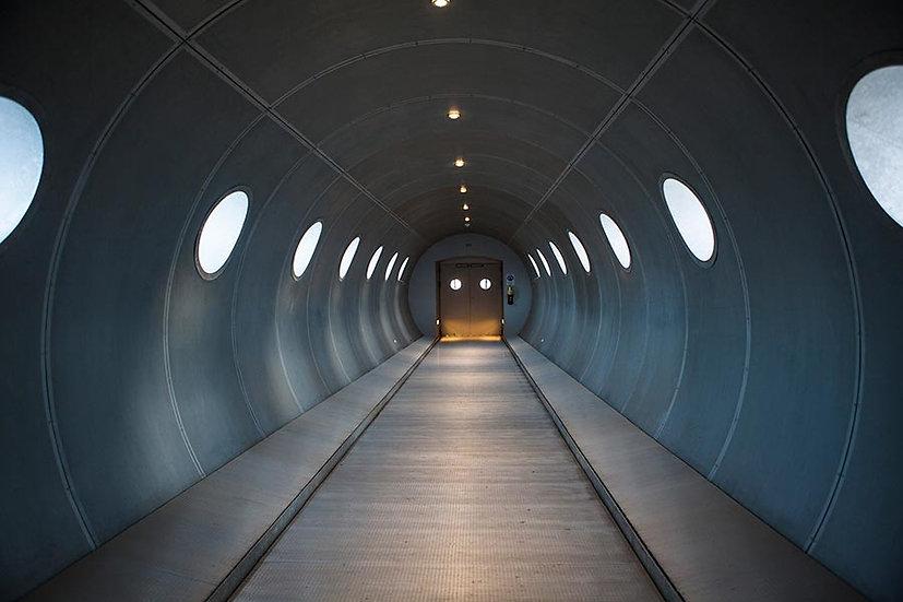 Tünel Duvar Kağıdı Üç Boyutlu