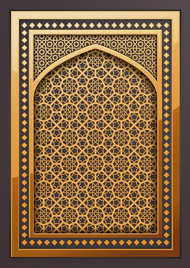 Gold Kapı Desenleri Duvar Kağıtları | Malezya Duvar Kağıdı
