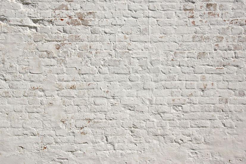 Beyaz Tuğla Duvar Kağıdı | 3 Boyutlu Beyaz Tuğla Duvar Kağıtları | Kadıköy
