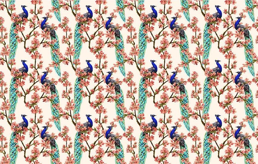 Tavuz Kuşu Duvar Kağıdı 3D | Full Hd Oturma Odası Duvar Kağıtları