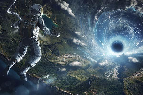 3D Animasyon Film Duvar Kağıdı | HD Uzay Boşluğu Duvar Posteri