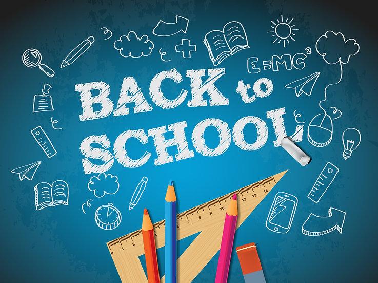3 Boyutlu Okul Duvar Kağıtları | Eğitim Back To School Duvar Kağıtları