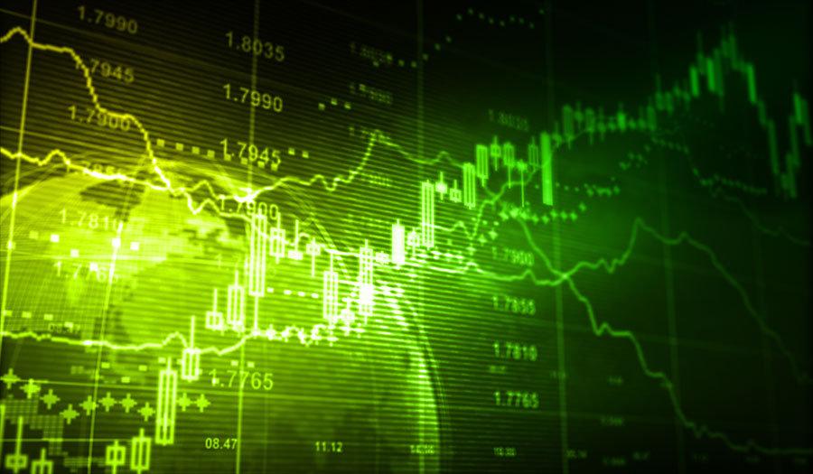 3 Boyutlu Sektörel Duvar Kağıtları | Dokulu Borsa Değerleri Duvar Kağıtları