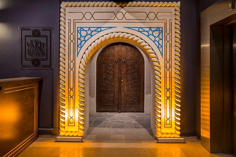 Camii İçi 3D Duvar Kağıdı | İslami 3D Duvar Kağıtları | Mescid Duvar Kağıdı