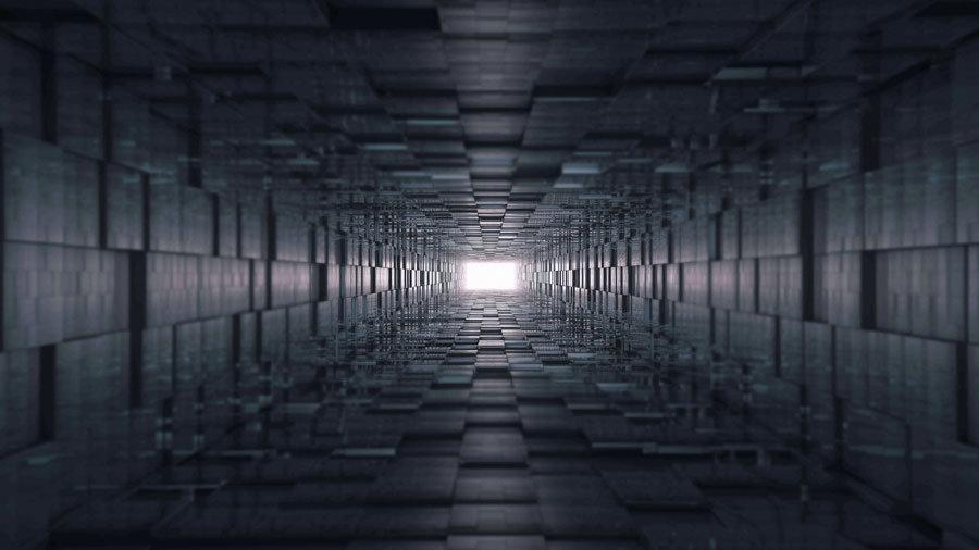 Özel Tünel Tasarım Duvar Kağıtları | 3d Tasarım Görünümlü Duvar Kağıtları