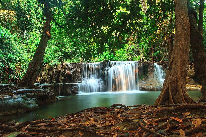 Kamin Şelalesi Duvar Kağıdı | Full HD Tayland Şelalesi Duvar Kağıtları