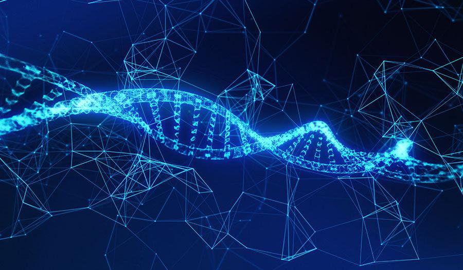 3 Boyutlu Tasarım Duvar Kağıtları   Dokulu Hastane DNA Duvar Kağıtları