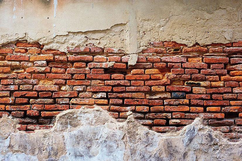 Derinlikli Tuğla Model Duvar Kağıdı | 3D Tuğla Desenli Duvar Posteri | İstanbul