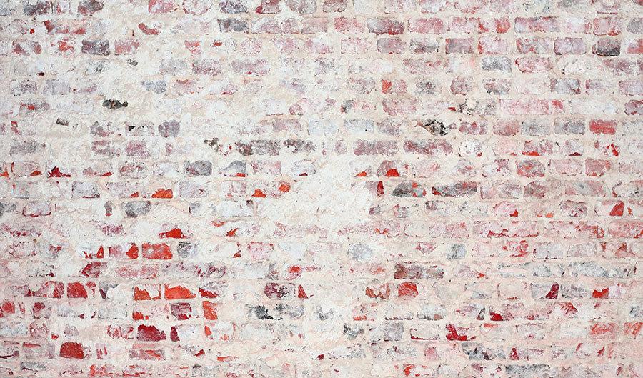 Eskitme Beyaz Tuğla Duvar Kağıtları