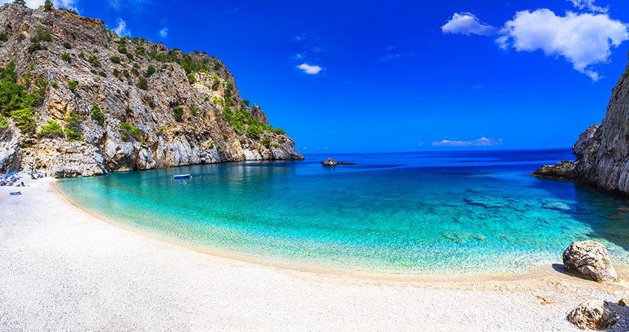 3 Boyutlu Duvar Kağıtları | Full HD Palmiye Sahili İtalya Duvar Kağıtları