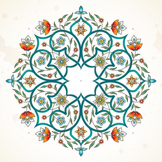 3 Boyutlu İslami Motifleri Duvar Kağıdı Örnekleri