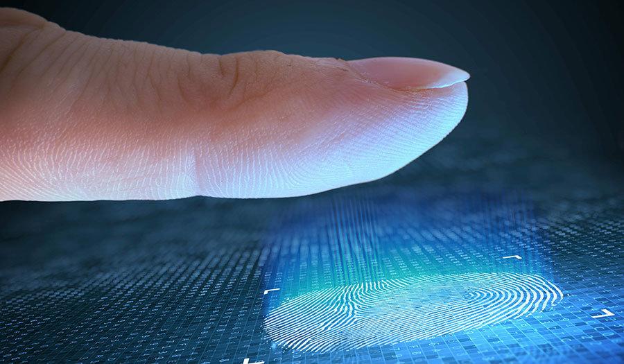 Full HD Görselli Duvar Kağıtları   3D Teknoloji Parmak İzi Duvar Kağıtları