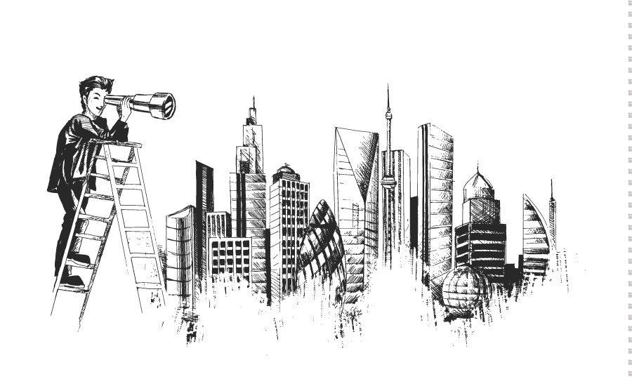 3D Şehir Krokisi Duvar Kağıdı | Full Hd İnşaat Krokisi Duvar Kağıtları