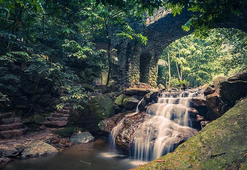 3 Boyutlu Nehir Duvar Kağıdı | Full HD Şelale Duvar Kağıtları | Aydın
