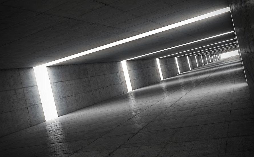 3D Tünel Duvar Kağıdı   3 Boyutlu Duvar Kağıdı