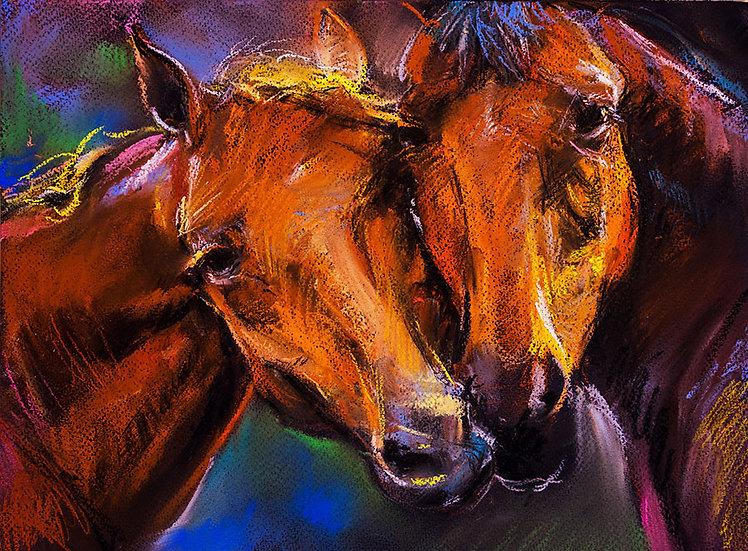 At Manzaralı Duvar Kağıtları | At Resimli Duvar Kağıtları Örnekleri